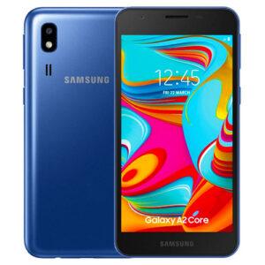 SAMSUNG GALAXY A2 CORE – 64GB ROM / 4GB RAM – 4000mAh - BLUE