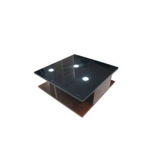 TABLE CAFE EN VERRE 1.1M