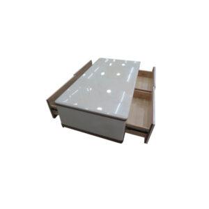 TABLE BASSE EN MARBRE + TIROIR