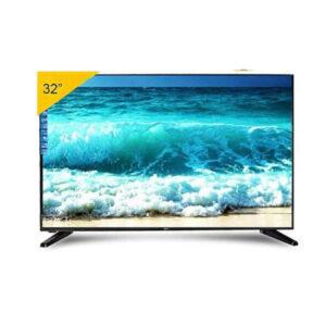 """STARSAT TV LED -Ultra Slim - 32"""" - AC/DC - Fonctionnalité Solaire - HD – Noir"""