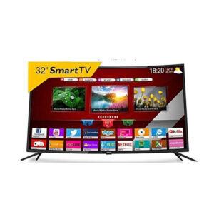 """STARSAT TV Smart LED t incurvée 32 """"- Wi-Fi - HDMI- USB -VGA - Noir"""