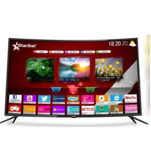 "STARSAT SMART TV LED 55 "" intelligente et incurvée"