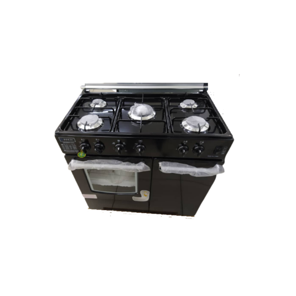 CUISINIERE INNOVA A GAZ 60×80 – 05 FOYERS – NOIR – 06 MOIS