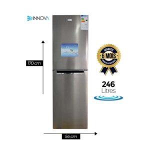 Réfrigérateur INNOVA IN310 - 246L - couleur Gris